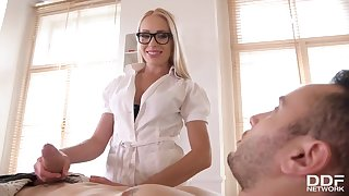 Angelika Grays - Ukrainian Nurse Fornicateed By Patient in 720p - blond hair babe