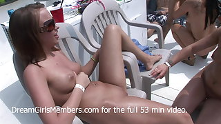 Innocent Teens Fingers on Pussy Eating Sluts