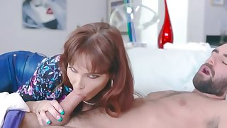 milf step mom and son have oral sexual congress and fuck