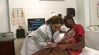 Kiera King gives a black patient much-desired attention
