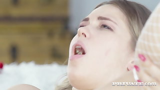 Private.com - Nympho Nurse Selvaggia Cures Broad in the beam Blue Balls!
