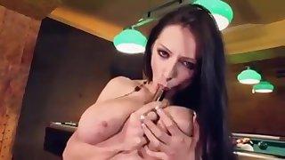 Anya Zenkova - Ukrainian Babe with Huge Confidential Masturbates, Part 1