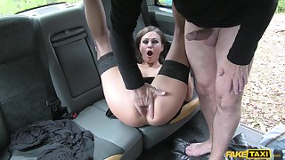 Tina Kay specialization the right inches in both her greedy holes