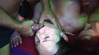 left alone german swinger club groupsex party