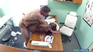 Ebony woman is being taped just about secret when doing grotesque things