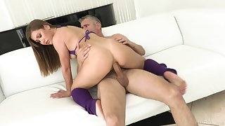 Huge inches for be transferred to cheating wife in full anal tryout