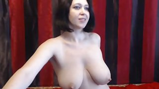 This Russian webcam babe has the most beautiful body and tits I've continually specific to