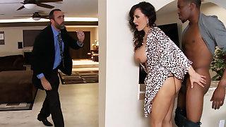 Spouse returned when housewife rails BIG BLACK Horseshit