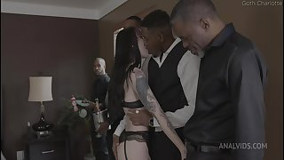 Charlotte Sartre Rough Double Anal Gangbang